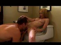 Минет, кунни и влагалищный секс в ванной и на постели